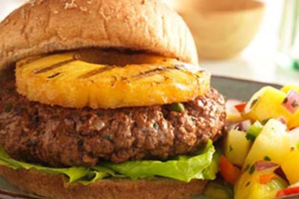 Laura's Lean Beef Island Burger