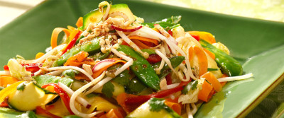 Vegetable Noodle Stirfry