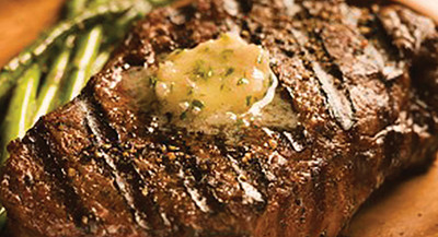 Michael Smith's Grilled Steak and Butter