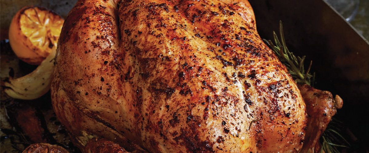 Roasted Chicken With Lemon And Garlic Big Green Egg