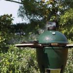 Large Big Green Egg Outdoors