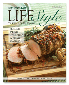 Big Green Egg Lifestyle Magazine Cover V6