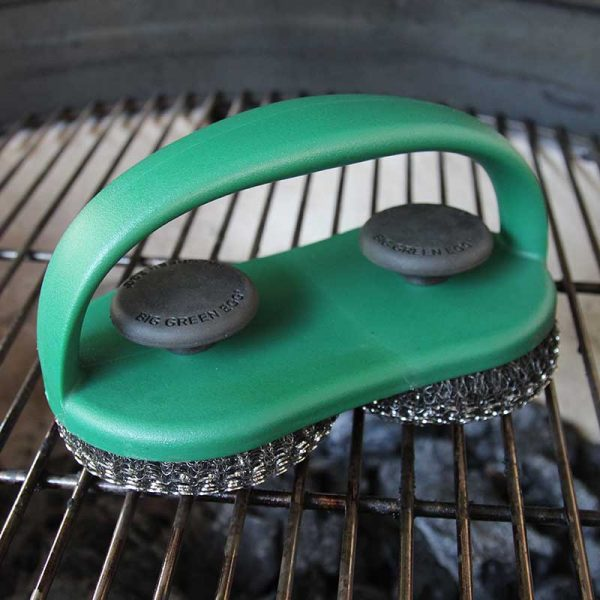 Dual Brush Grill & Pizza Stone Scrubber Item Number 119476