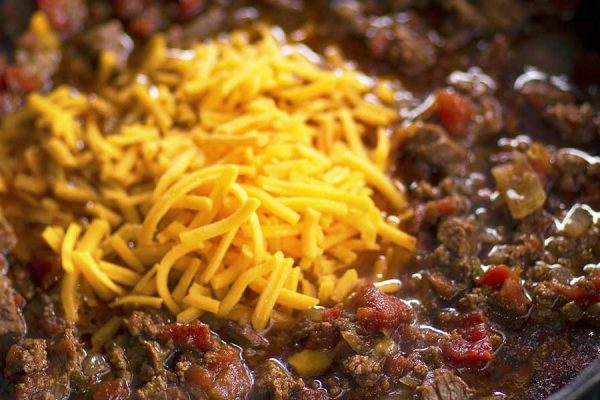 Tri-Tip Chili cooked on the Big Green Egg