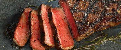 Reverse-sear steak