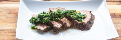 Tri Tip with Chimichurri